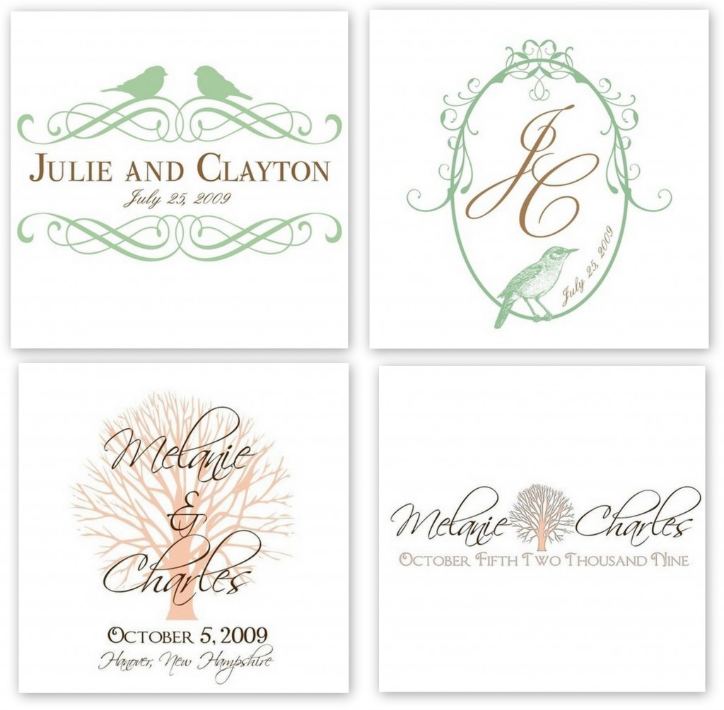 Wedding Monograms Aislinn Events
