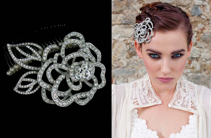 Vintage bridal headpieces Flo and Percy mrs2bie Aislinn Events