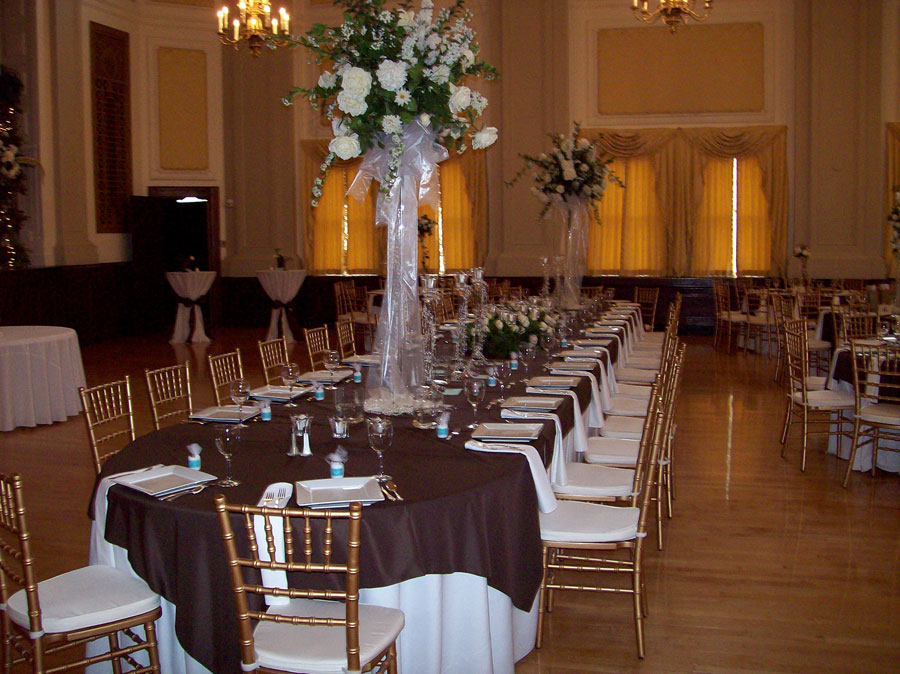 Oval top table If your bridal