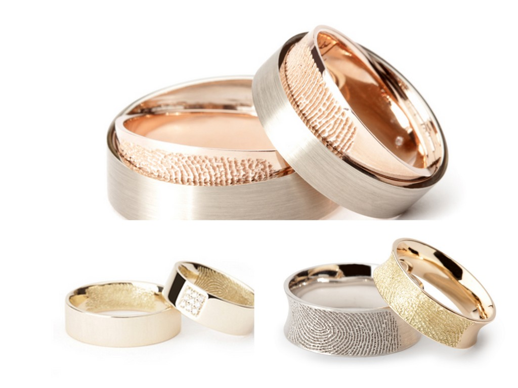 Fingerprint Wedding Rings on Fingerprint Wedding Rings