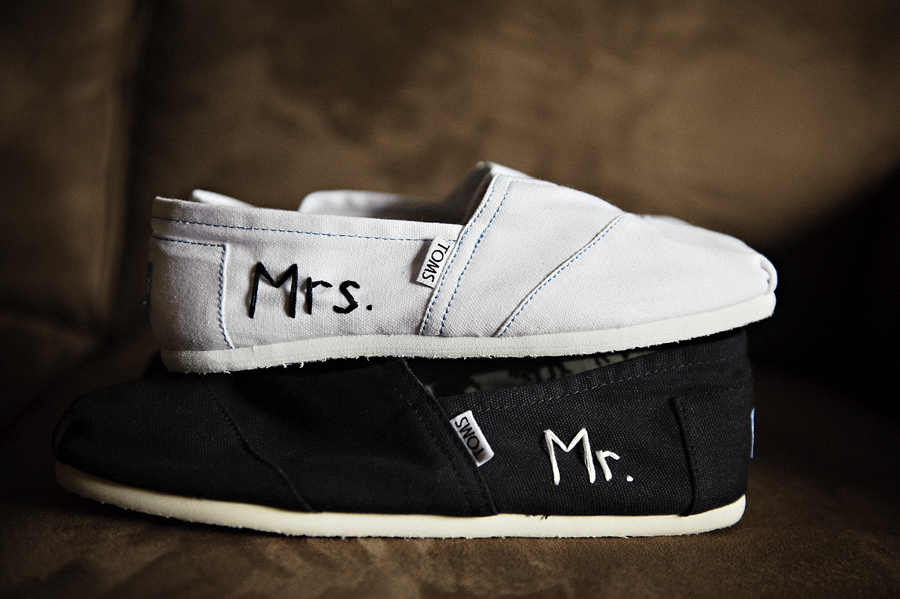 Wedding Trends - Shoes mr and mrs toms