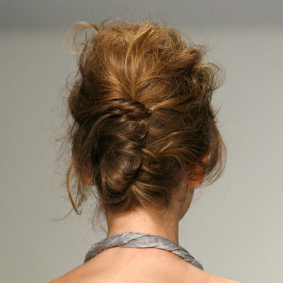 wedding hair with a french twist