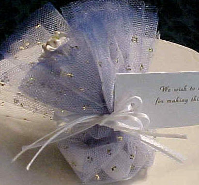 Edible Wedding Favors Tied With Bow