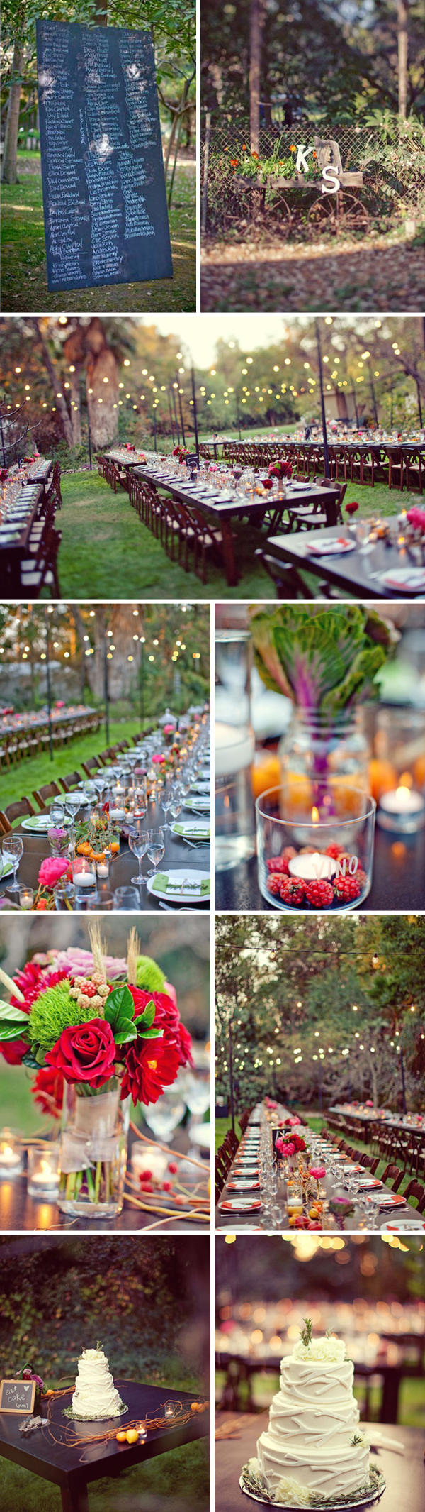 Summer Wedding Reception Ideas