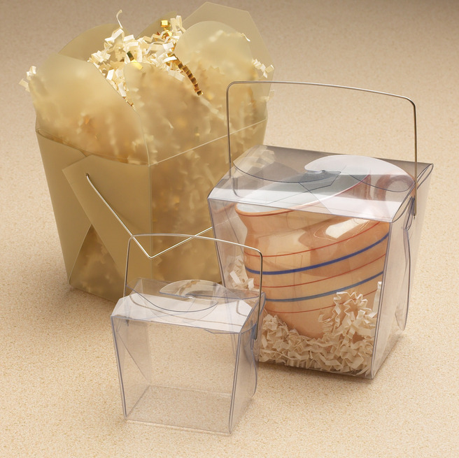 Clear Chinese Take Out Favor Boxes : Pretty packaging aislinn events