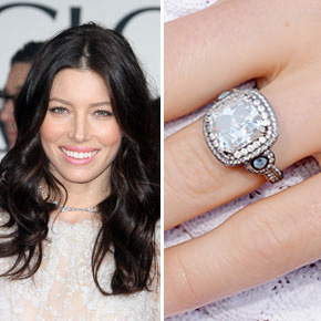 Celebrity engagement rings aislinn events celebrity engagement rings junglespirit Images