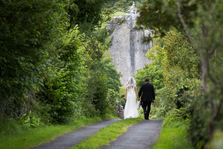 a wedding planning walk