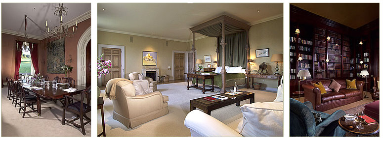 stately rooms in Castles and Manor Houses