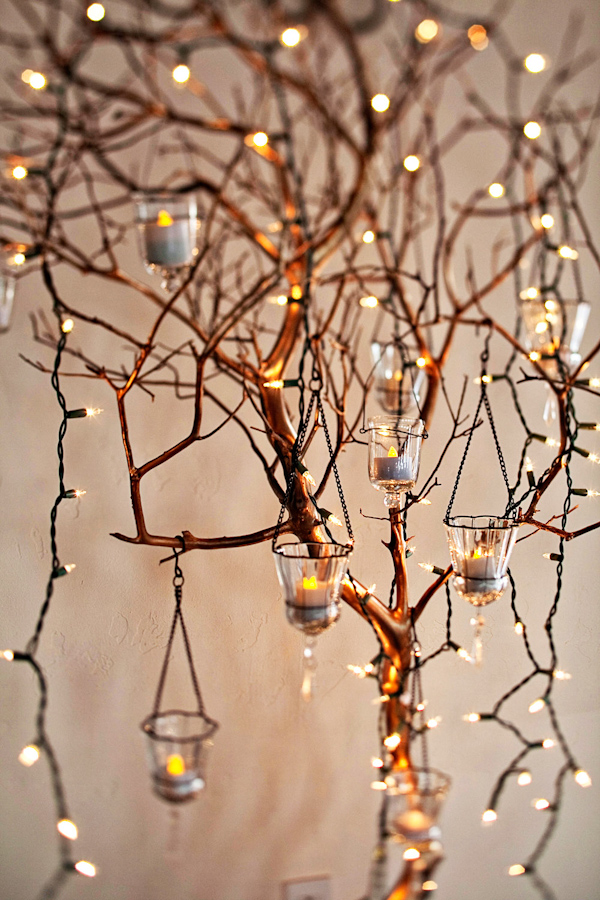 Candles on Branches