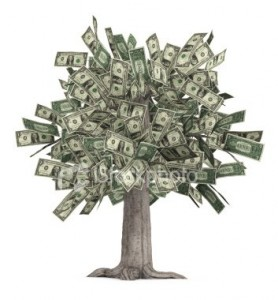 Wedding Planning - How to Budget money tree