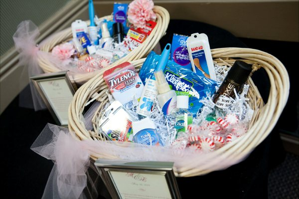 Pictures Of Bathroom Baskets Filled With Items
