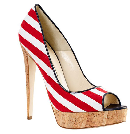 Patriotic and Fabulous shoes