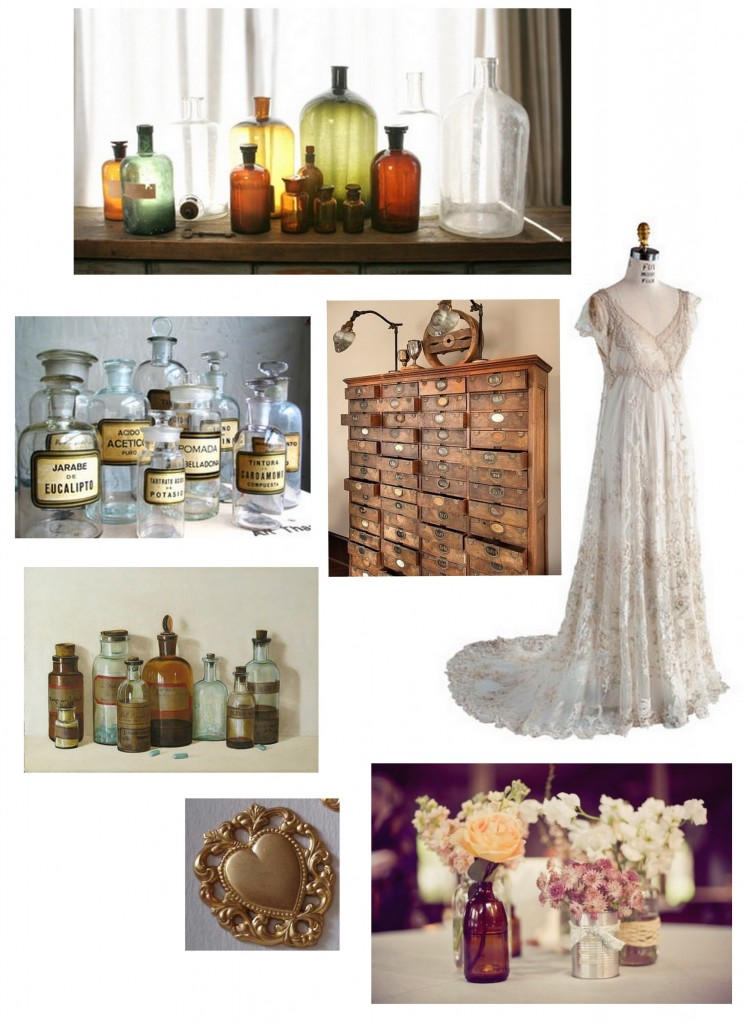 different types of Apothecary Jars