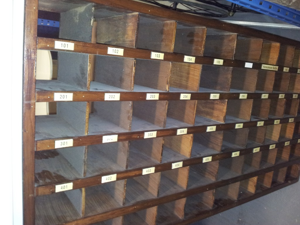 Vintage Furniture Rentals old mailboxes