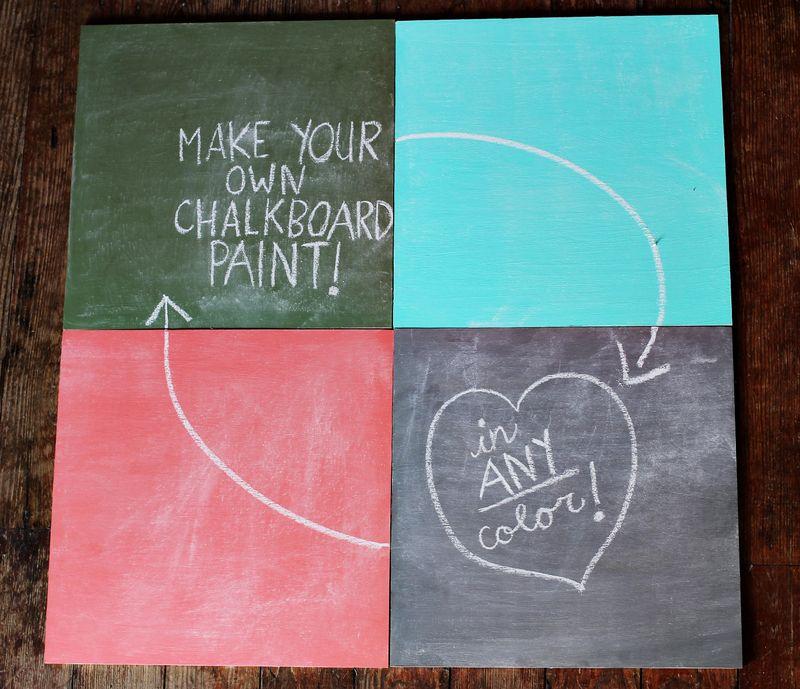 Colorful Blackboards