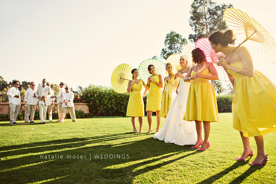 Out of Your Comfort Zone summer theme bridal party