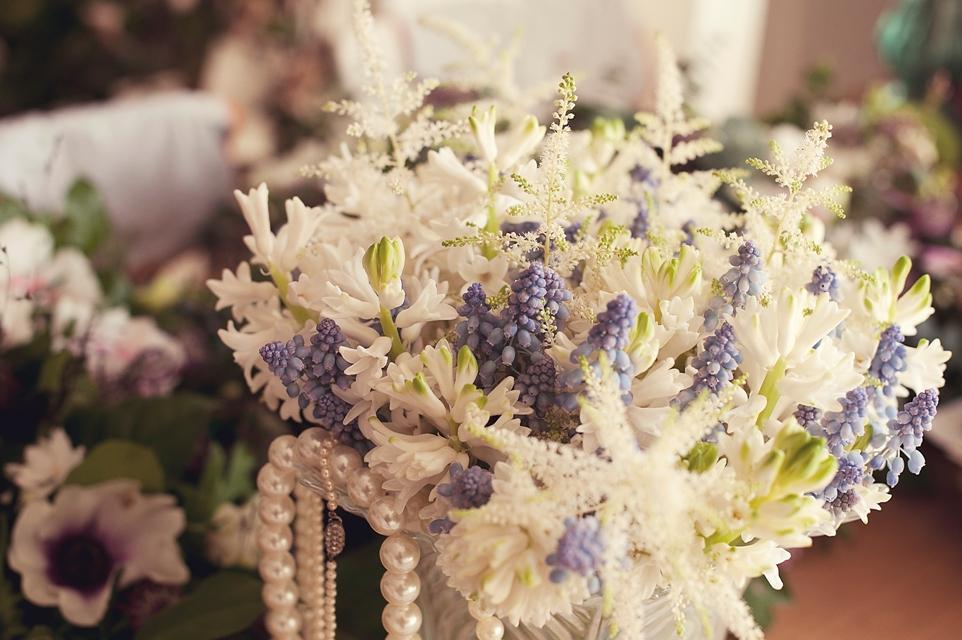 Astilbe Wedding Bouquet