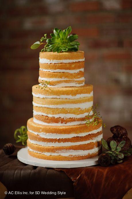 naked cakes sponge and cream