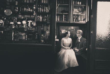 Irish destination wedding Pub