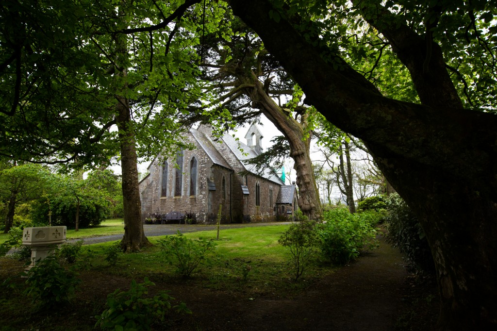 church in a forest  Cathy & Daire 0007 is one of the top ten reasons to get married in ireland