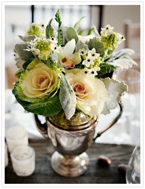 cabbage floral arrangement flower trends