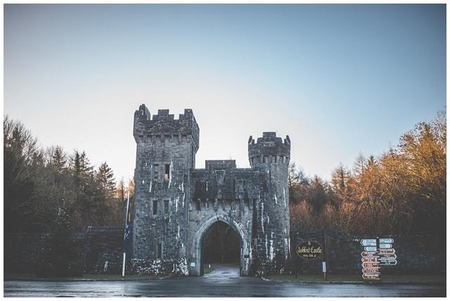 castle entrance ireland, ashford castle