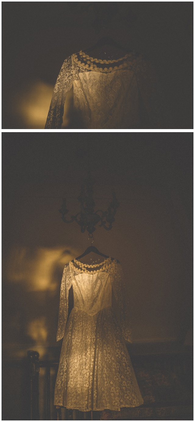 Wedding dress Ireland antique at  the castle wedding