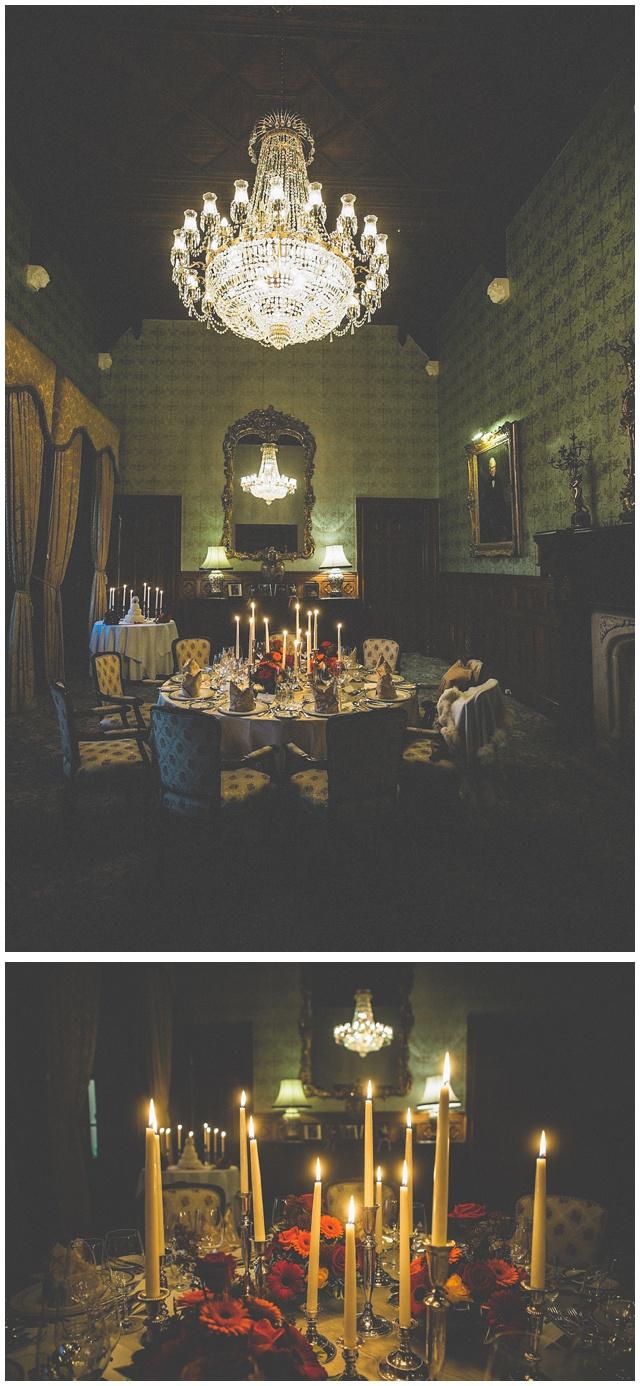wedding decor Ireland castle