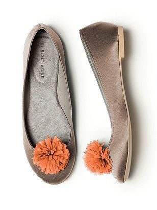orange flower shoe Sunday Shoes 3 -mixy matchy