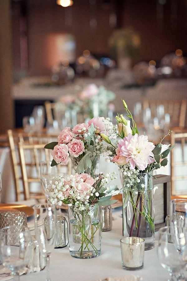 vintage wedding table Tabletop Garlands
