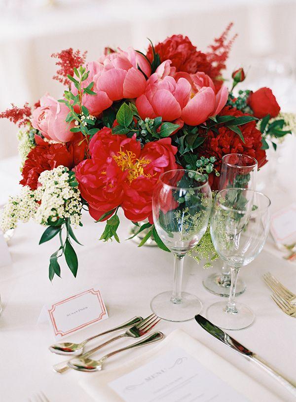 red Vintage Botanicals bouquet