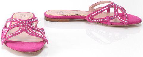Sunday Shoes - Bridal pink slip ons Sunday Shoes-Bridal