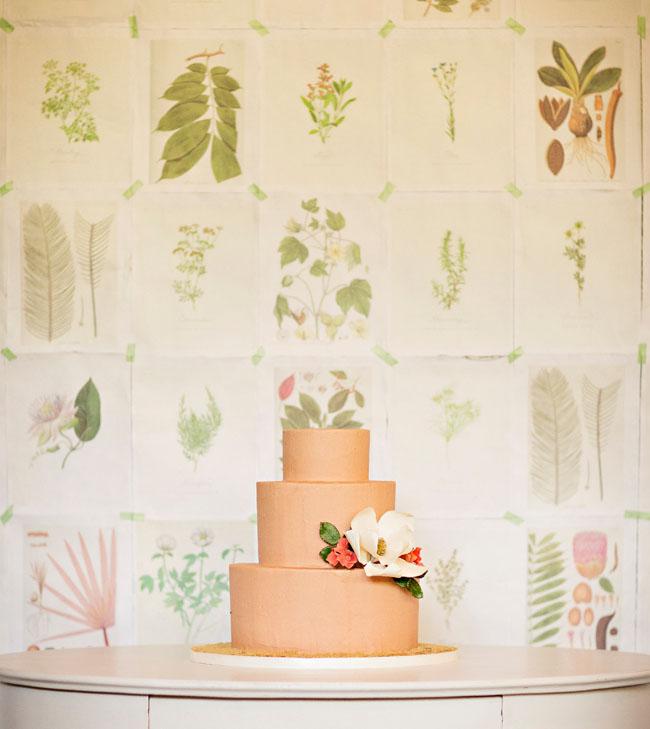 Vintage Botanicals wedding style