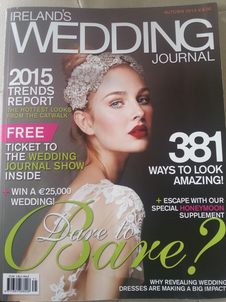 wedding magazine feature, wedding journal magazine