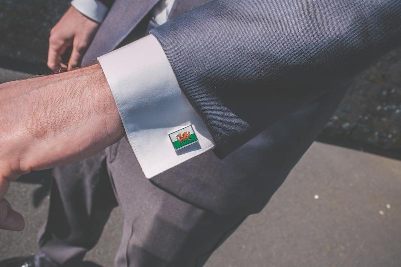 Welsh cufflinks