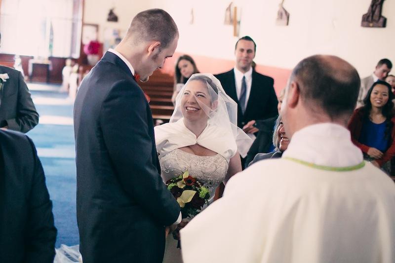 wedding Doolin church Ireland