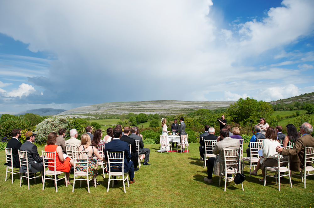 outdoor destination wedding Ireland