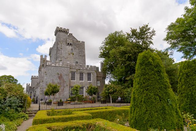 Irish castle gardens