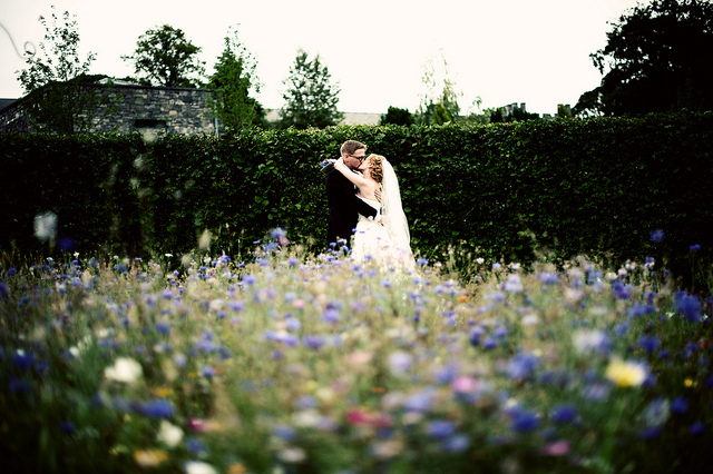 romantic castle gardens