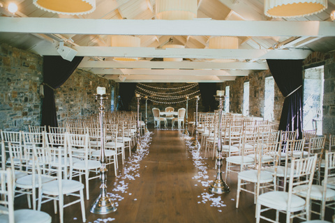 wedding ceremony aisle decor
