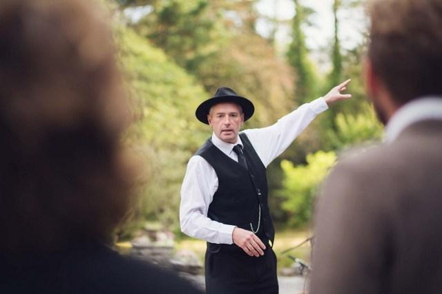 Ray O'Sullivan Irish storyteller