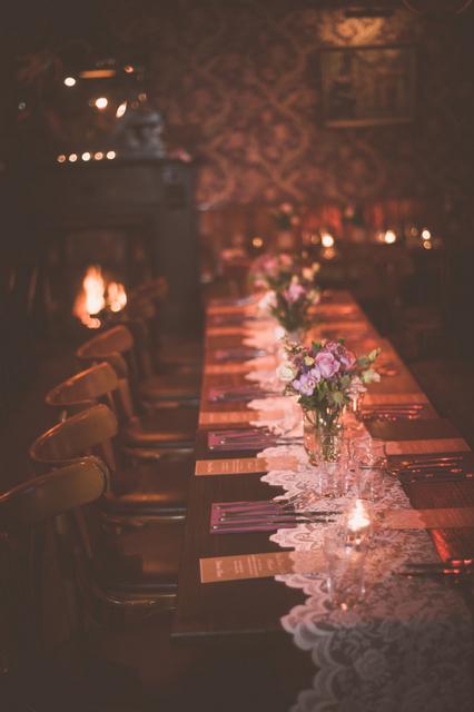 intimate Irish wedding