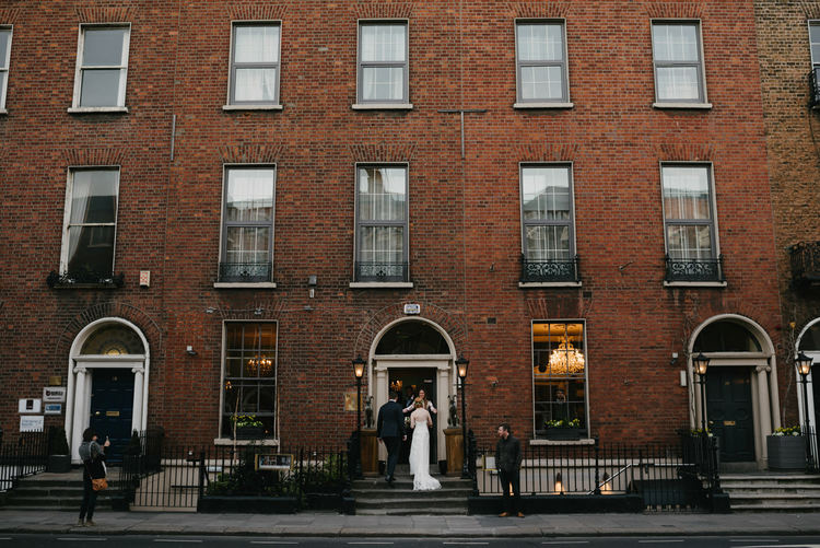 Outdoor wedding House Dublin Ireland