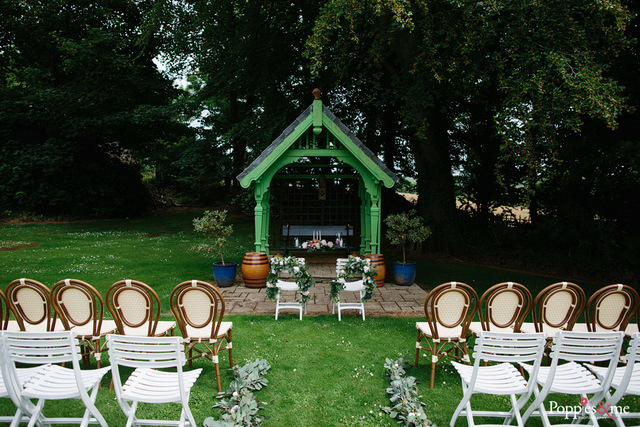 outdoor wedding ceremony Ireland