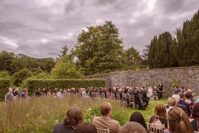 outdoor garden wedding Ireland images by Shane O'Neill www.aspectphotography.net