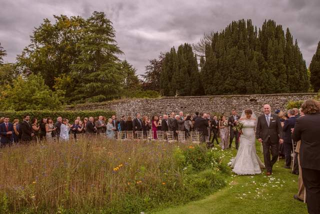 Garden wedding Ireland destination wedding planner