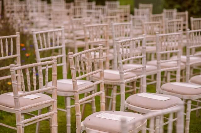 Garden wedding Ireland