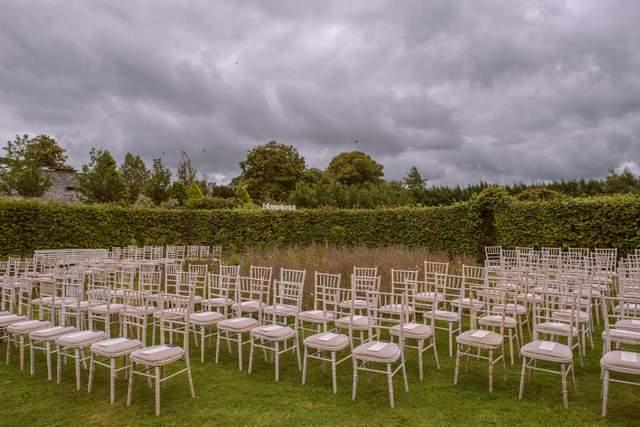 outdoor garden ceremony Ireland