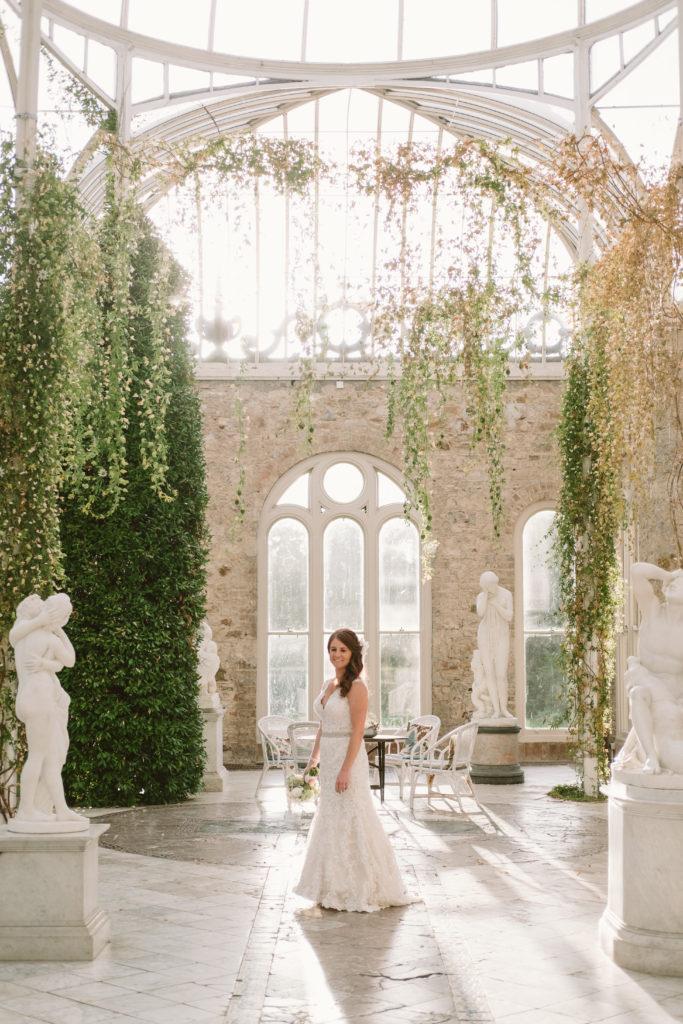castle wedding photo Ireland destination Irish