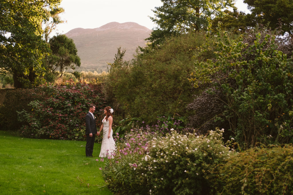 romantic Irish destination wedding